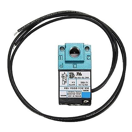 LaDicha 3 Puerto Electrónico Boost Control Solenoide Válvula Dc12V 5.4 W 35A-Aca-Ddba