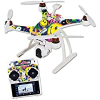 Skin For Blade Chroma Quadcopter – Peace Smile | MightySkins Protective, Durable, and Unique Vinyl Decal wrap cover | Easy To Apply, Remove, and Change Styles | Made in the USA