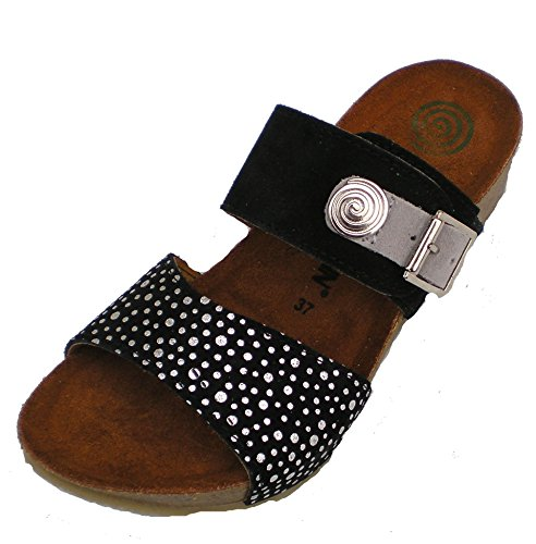 Dr.Brinkmann 701052-1 Mujer clogs & mules negro
