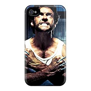 Fashionable UnZ1351zXqy Iphone 4/4s Case Cover For Logan Wolverine Protective Case