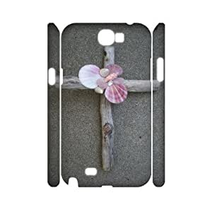 C-EUR Jesus Christ Cross Customized Hard 3D Case For Samsung Galaxy Note 2 N7100