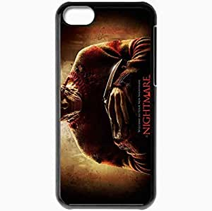 Personalized iPhone 5C Cell phone Case/Cover Skin A nightmare on elm street movie normal movies Black