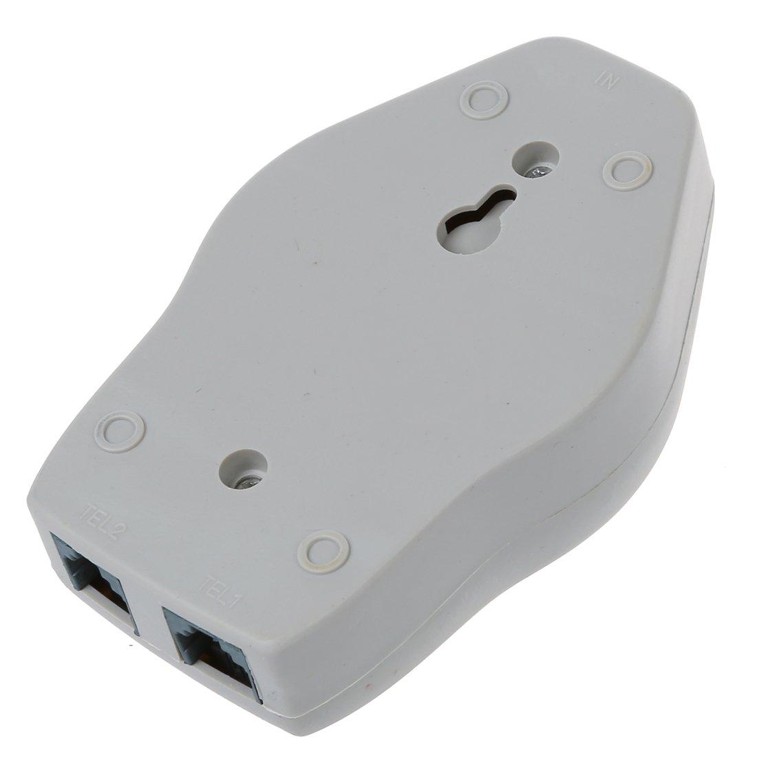 REFURBISHHOUSE Amplificador de Timbre de Telefono Amplificador de tintineo Gris