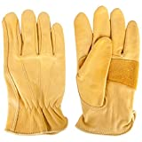 Justin Men's Cowhide Gloves Tan X-Large
