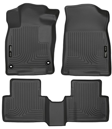 Honda Civic Seats (Husky Liners Front & 2nd Seat Floor Liners Fits 16-18 Civic Coupe/Civic Sedan)
