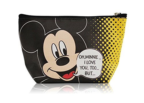 Mickey Mouse Cosmetic Bag Makeup Pouch [7.5