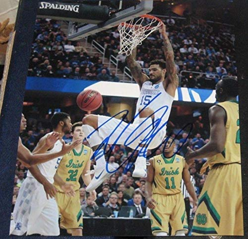 Autographed Willie Cauley-Stein Photo - 8x10 Basketball - Autographed College Photos