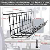 Under Desk Cable Management Tray, Cable Organizer