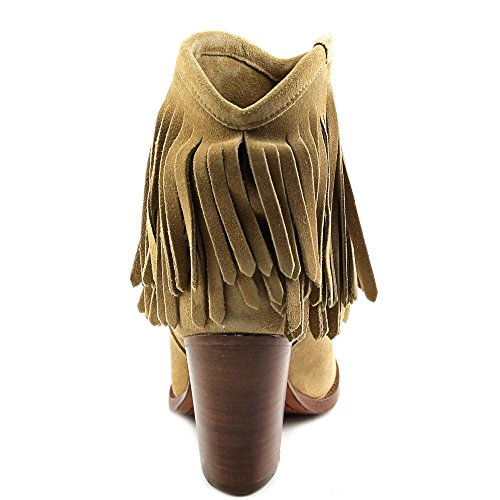 Boot Biscuit FRYE Western Fringe corto Mujer Ilana qqXSp