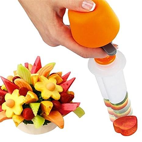 adeeing verduras frutas forma cortador de cocina herramientas creativas de cocina Pop Chef cortador de alimentación