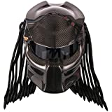 custom predator motorcycle dot approved helmet. Black Bedroom Furniture Sets. Home Design Ideas