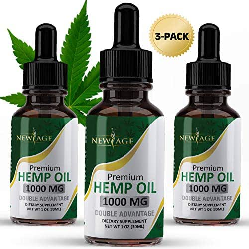 Vitamins & Supplements: New Age Hemp Oil