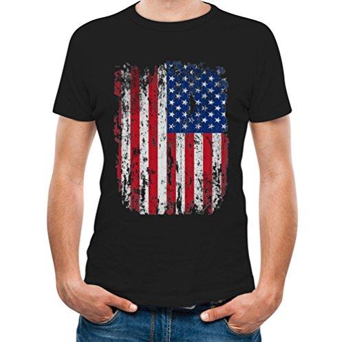 Distressed Crewneck T-Shirt - 4