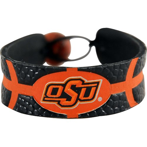NCAA Oklahoma State Cowboys Team Color Gamewear Leather Basketball - Leather Color Team