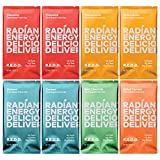 REDD Plant Based Protein Bar 8 Bar Variety Pack - 2 each Chocolate, Oat, Peanut Butter 1 each Mint, Salted