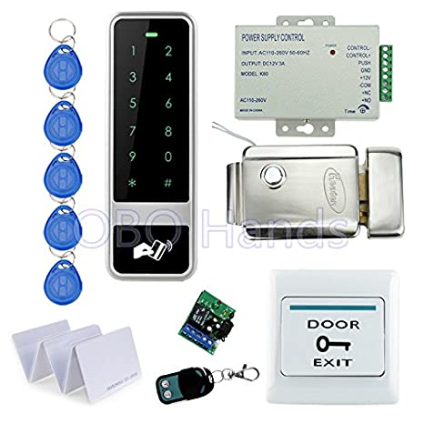 Cerradura electronica cerradura eléctrica de control de acceso RFID Castillo candado mecánico TECLADO SMART Electronics: Amazon.es: Electrónica