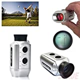 HDE-Pocket-Size-Digital-Precision-Golf-Rangefinder-Distance-Measure-Scope-Monocular