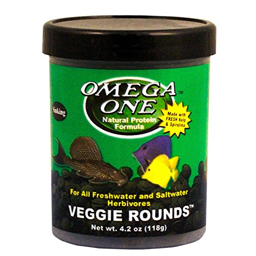 (Omega One Veggie Rounds, 4.2 Ounce Container)