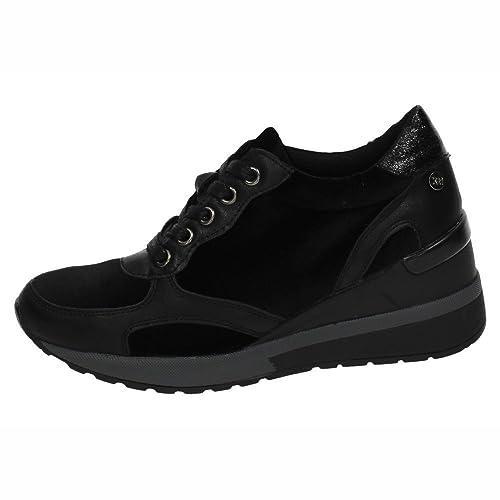 Zapato Con Deportivoa Cierre Cuña De Cordones Xti Mujer 4RdwqBB