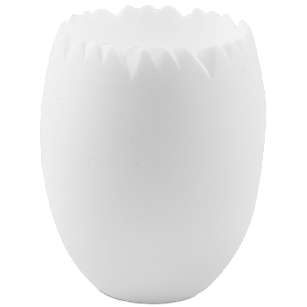 Comatec White Egg Cup 2 oz; 1.5 inch Dia; 2.25 H 100 Pack