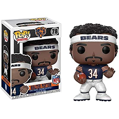 Funko POP NFL: Walter Payton (Bears Home) Collectible Figure: Funko Pop! Sports:: Toys & Games