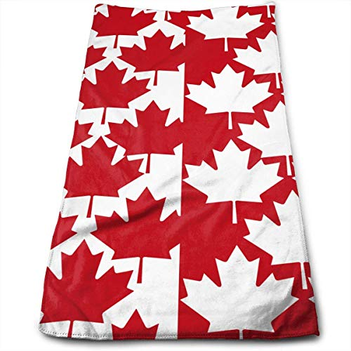 - Canada Maple Leaf Bath Towels for Bathroom-Hotel-Spa-Kitchen-Set - Circlet Egyptian Cotton - Highly Absorbent Hotel Quality Towels 12