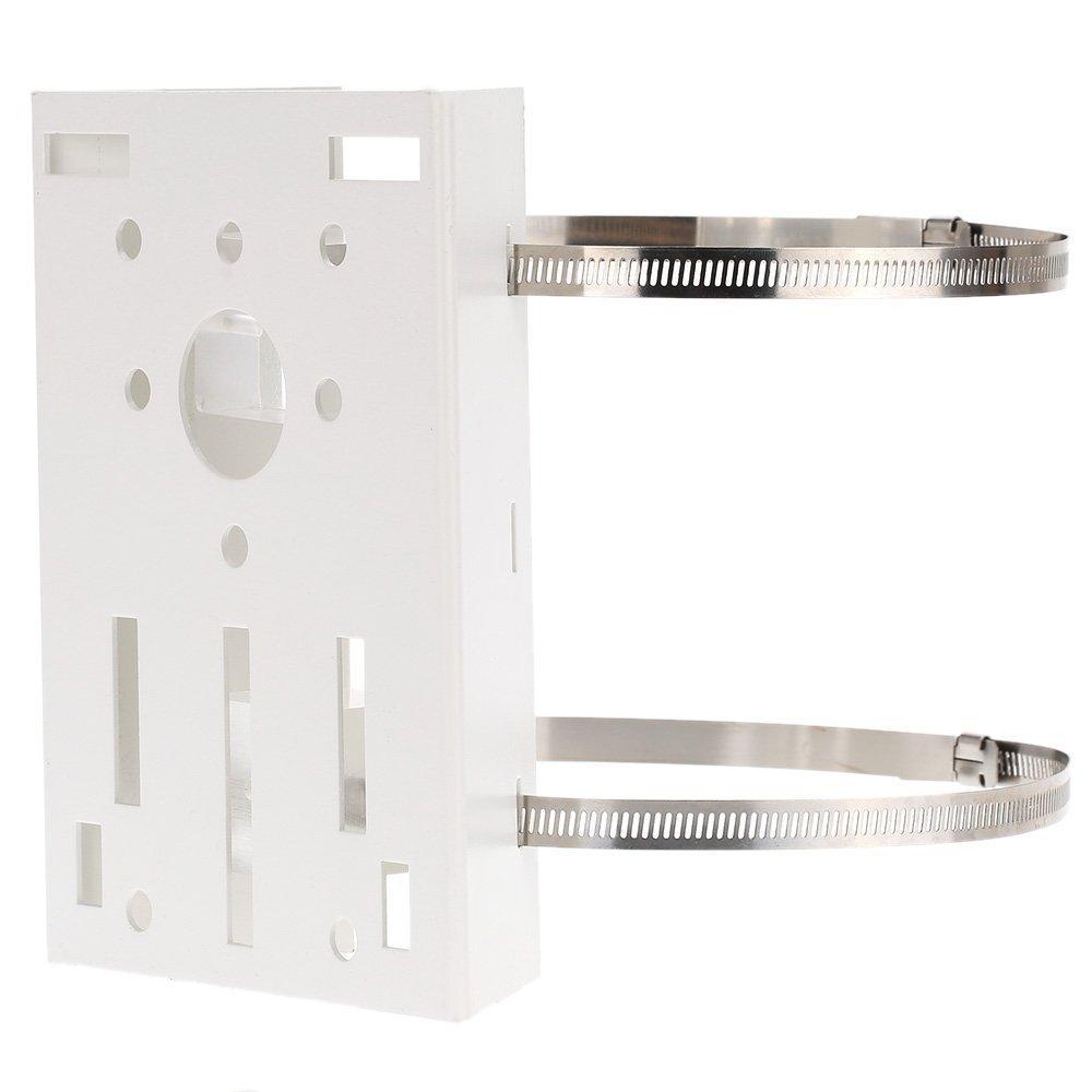 RETYLY Metal Pole//Column Mount Loop Bracket 20CM PTZ Corner for CCTV Security Camera