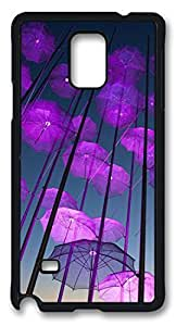 DIY Hard Shell Black Best Personality Samsung Galaxy Note 4 Case Seeing Pink for Breast Cancer Awareness