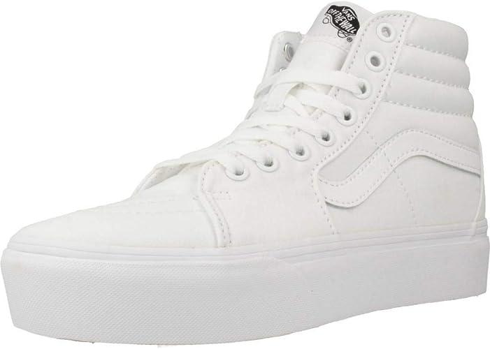 white vans size 2