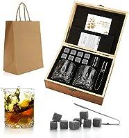 Set de regalo de Whisky Stones and Glasses
