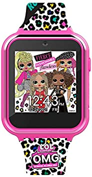 LOL SURPRISE OMG Girls Touch-Screen Interactive Smartwatch, Pink (OMG4029AC)