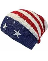 Luxury Divas American Flag Stars & Stripes Beanie Cap Hat