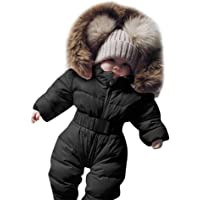 Wanshop ® Baby Unisex Romper Sets, Baby Boy Girl Hooded Winter Jumpsuit Pyjamas Jacket Warm Thick Coat Outfit Clothes Suit for 0-2 Years