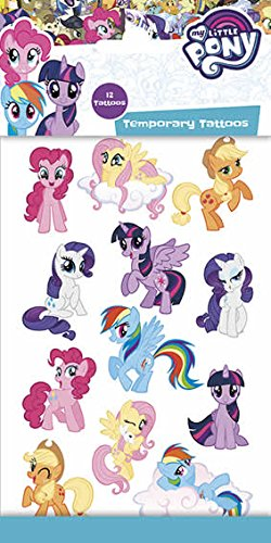 FUNNY PRODUCTS Tatouages-My Little Pony 370071 Multicolore