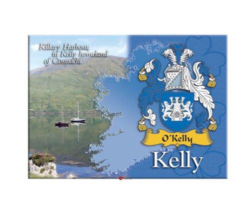 Kelly Clan Metallic Picture Fridge Magnet (Clan Magnets)