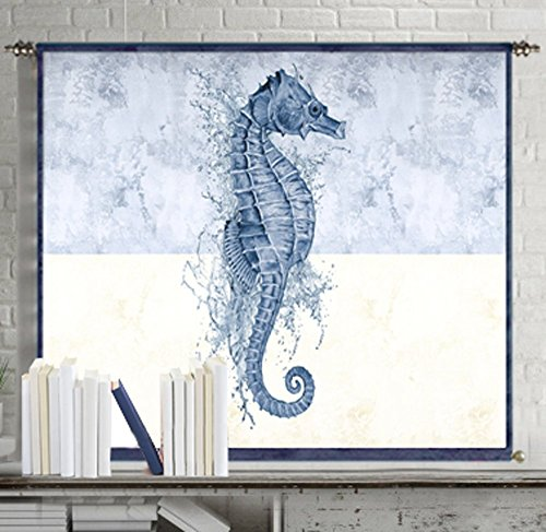 Seahorse-decor-wall-art-prints-abstract-painting-canvas-poster-large-art-blue-tapestry-wall-hanging-home-decorations-for-living-room-wall-decor-bedroom