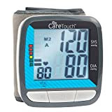 Care Touch Fully Automatic Wrist Blood Pressure Cuff Monitor - Classic Edition, 5""