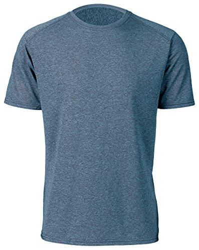 Paragon Men's Raglan Heather Performance T-Shirt, Navy Heather, - Paragon Outlet