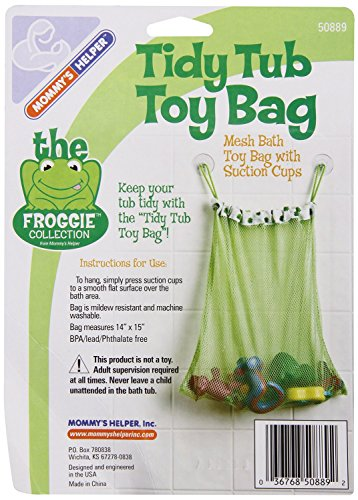 Mommy's Helper Froggie Collection Tidy Bath Toy Bag