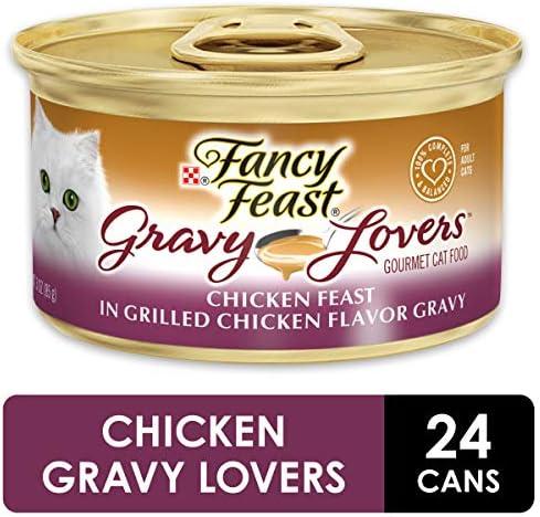 Purina Fancy Feast Gravy Lovers Adult Canned Wet Cat Food 2