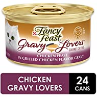 Fancy Feast Gravy Lovers Gourmet Cat Food, Chicken, 3 Ounce (Pack of 24)