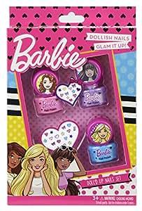 Barbie - DollD Up Nails, estuche de maquillaje infantil (Markwins Beauty Brands 9708310)
