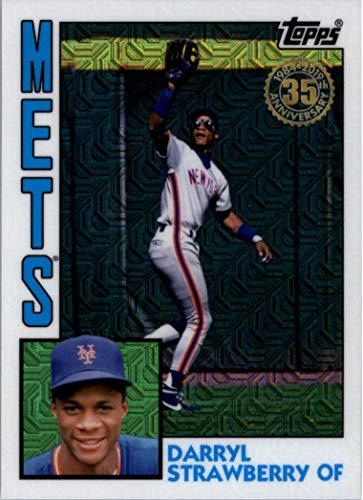 2019 Topps Baseball '84 Topps Silver Pack Chrome #T84-30 Darryl Strawberry New York Mets