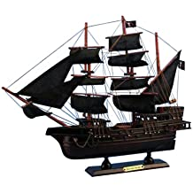 Hampton Nautical  Blackbeard's Queen Anne's Revenge Pirate Ship, 15""