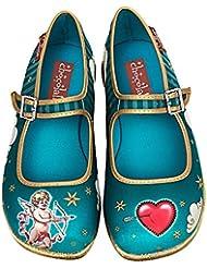 Hot Chocolate Design Chocolaticas Cupid Womens Mary Jane Flat