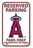 """MLB Angels 29704010 Plastic Sign, 11"""" x 17"""""""