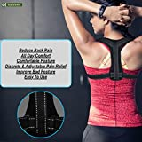 Unisex Posture Corrector by AussieBr Improve Bad Posture Comfortable Wear all Day Discrete and Adjustable Pain Relief Chest/Back Support