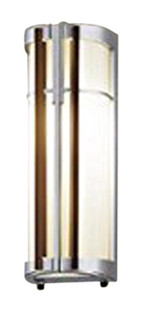 パナソニック(Panasonic) ポーチライト(センサなし)シルバーメタリック(ダークブラウン木調飾り) LGW85024SZ B00VHAYV1G 12784  シルバーメタリック