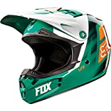 Fox 2015 Youth V1 Vandal Helmet Green/Orange L L 11948-147-L