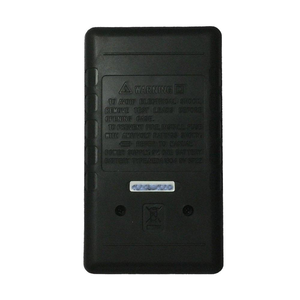 OLSUS DT838-1000V BK LCD Handheld Digital Multimeter for Home and Car - Black by OLSUS (Image #2)